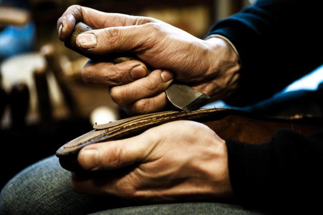 靴職人が営む靴修理店
