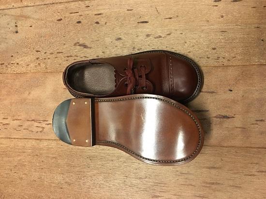 子供靴のヴィンテージシューズ|修理後