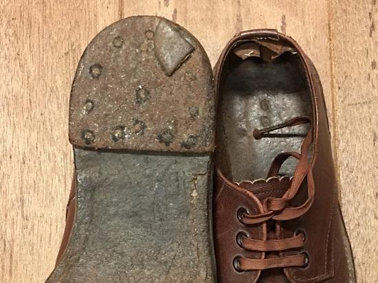 リーガルの子供靴|修理前