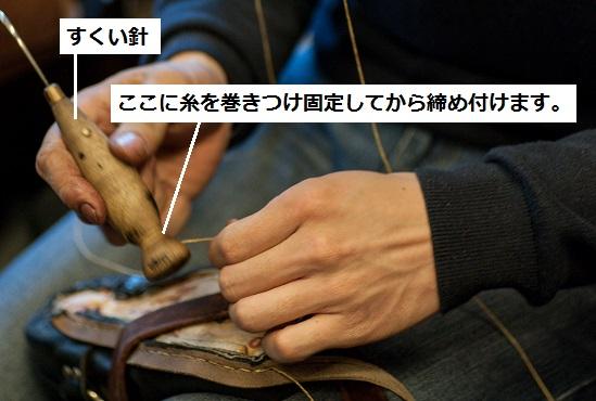 すくい縫いとすくい針