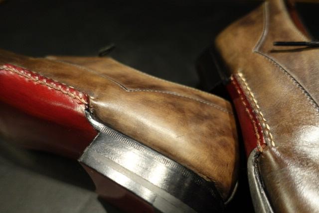 MAGNANNI | マグナーニ | 修理 | オールソール | オパンケ | スチール | 手縫い