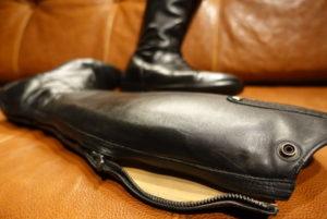 乗馬ブーツ | 修理 | ファスナー交換