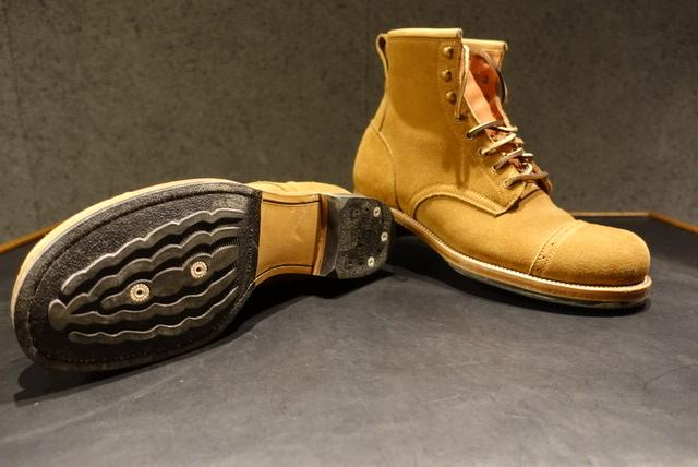 Iron Bootsのソール交換 修理 カスタム Before