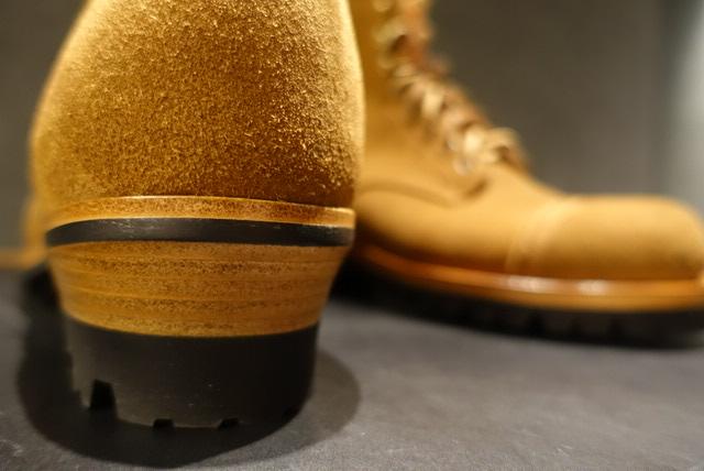Iron Bootsのソール交換 修理 カスタム