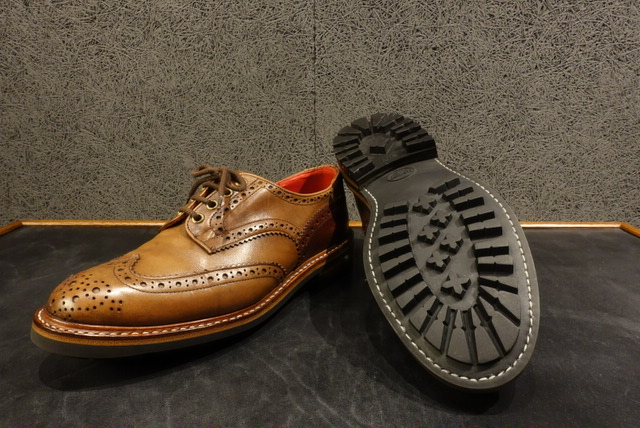 Tricker'sのソール交換 修理 After